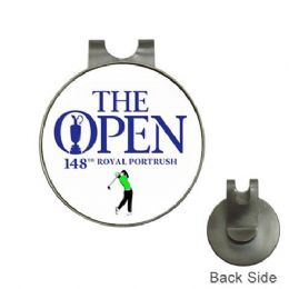 The Open Golf Royal Portrush 2019 Ball Marker Hat Clip Personalised